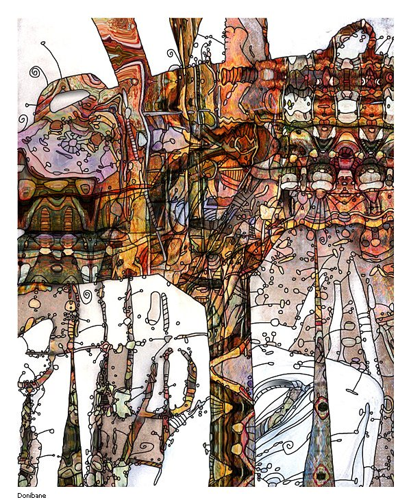 """Obra con título """"Comic"""" por Donibane"""