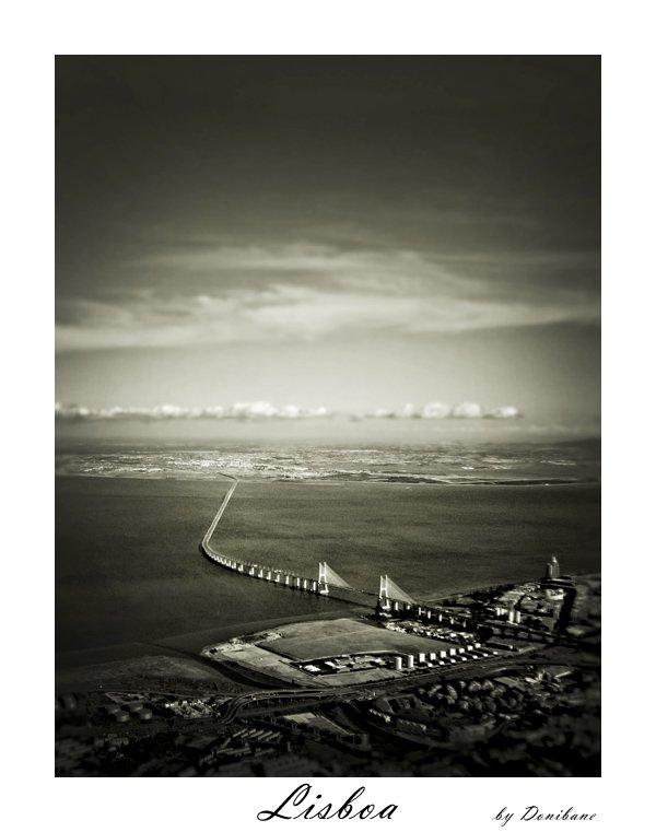 """""""Lisboa desde el cielo"""" por Donibane"""