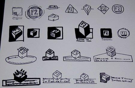 """""""Diseño de Identidad Corporativa F2"""", por Donibane"""