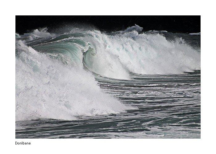 """""""El baile de las olas"""" por Donibane"""