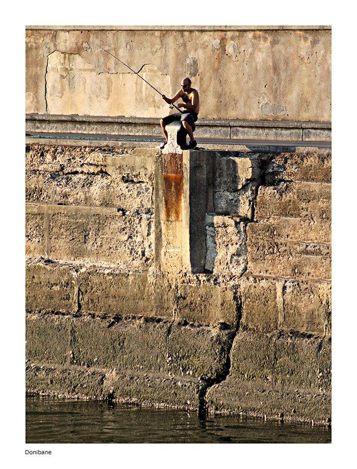 """""""El muro del pescador"""" por Donibane"""