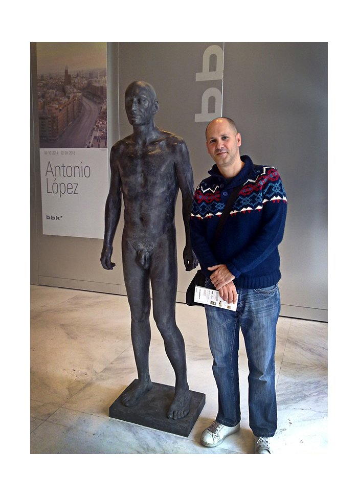 Antonio Lopez exposición en el Bellas Artes de Bilbao