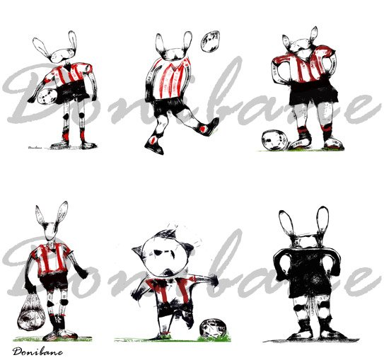 Iconografía Athletic Rabbit por Donibane