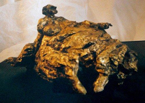 Susana, escultura de Vicente Arnoriaga