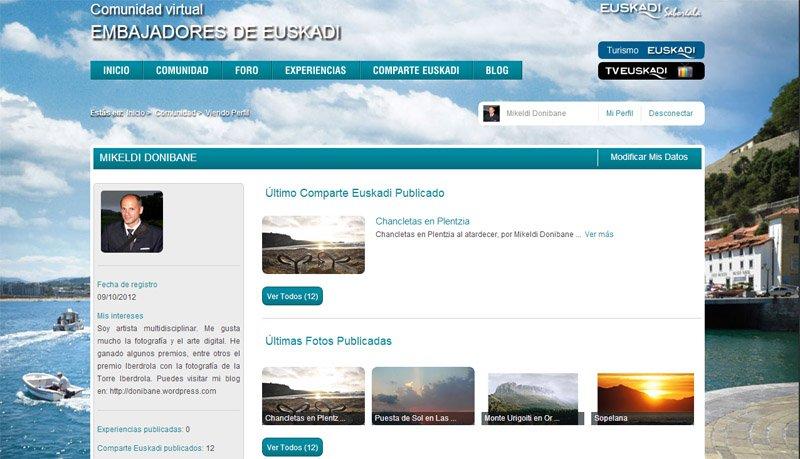 Donibane en Embajadores de Euskadi