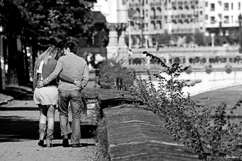 Paseando por Donostia por Donibane