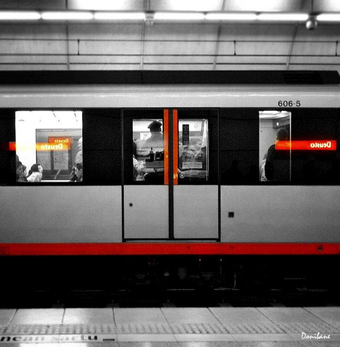 Metro Bilbao by Donibane