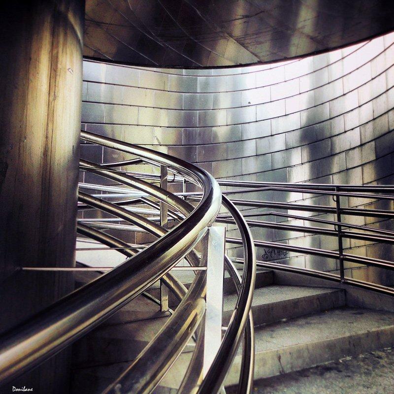 Escaleras en Deusto