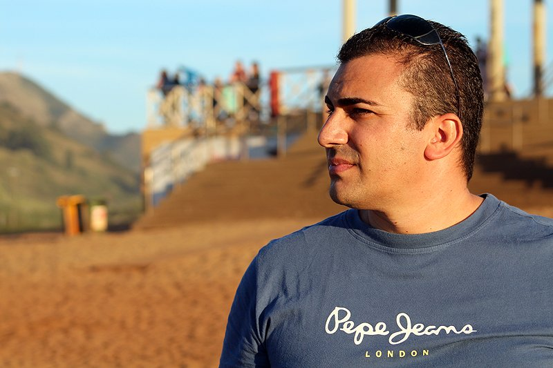 Curso de Fotografía en Muskiz, playa de la Arena