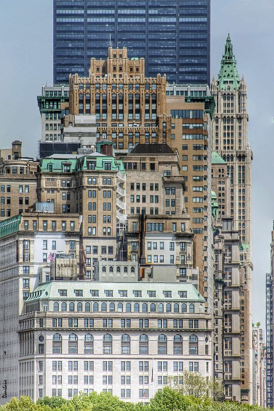 New York City by Donibane