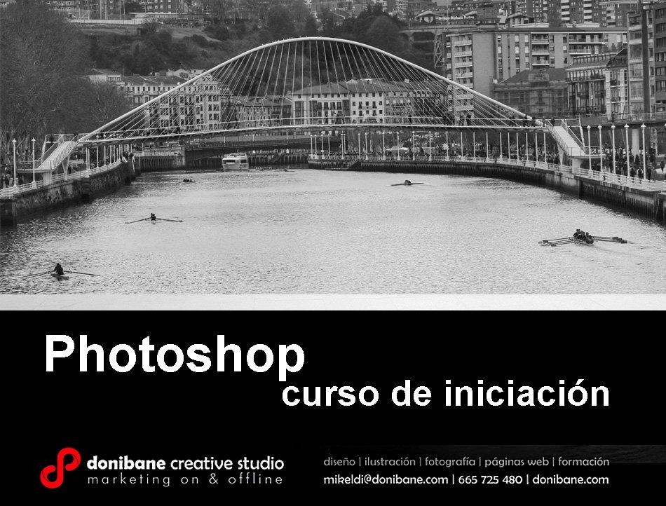 photoshop curso de iniciación donibane