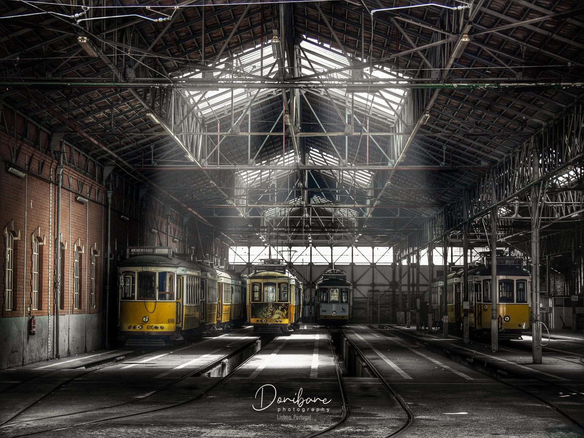 Tren Station in Lisbon, Portugal, by Donibane