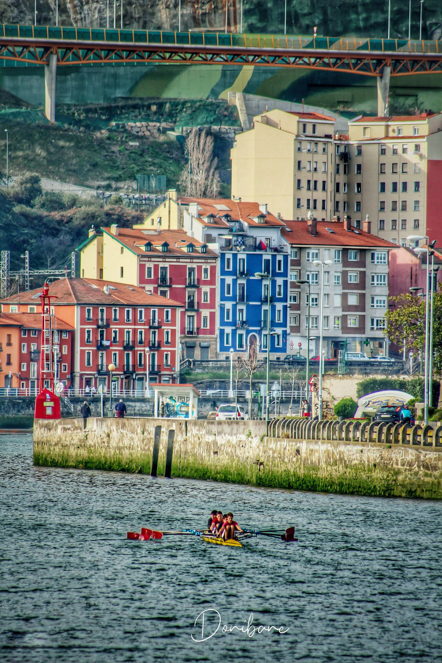 Remeros en Bilbao por Donibane