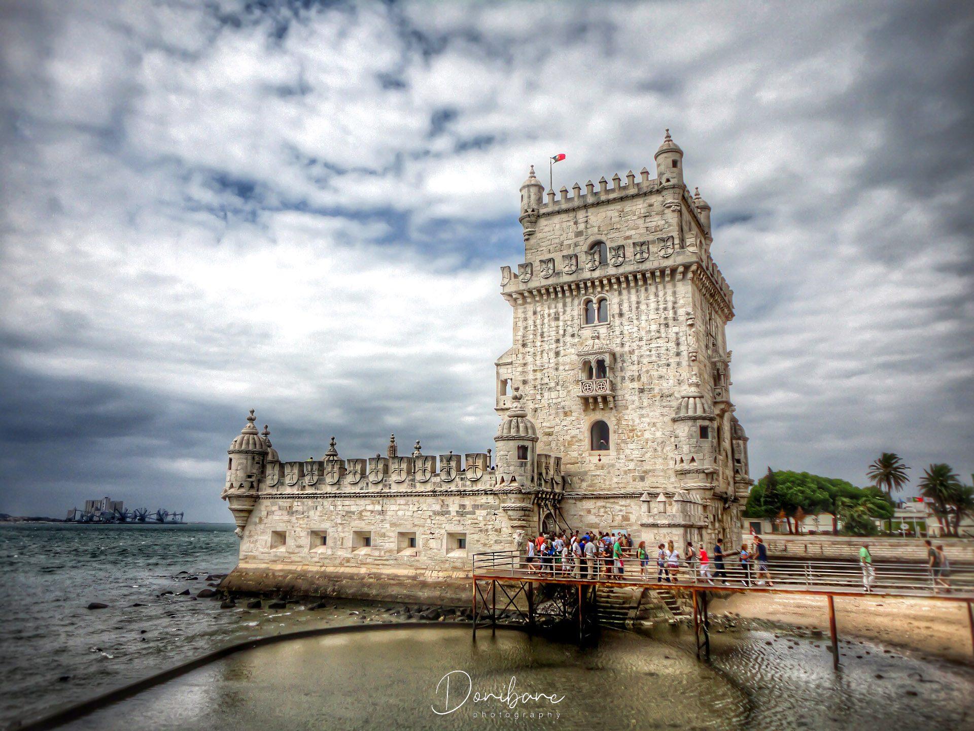 Belem en Lisboa, Portugal, fotografía de Donibane