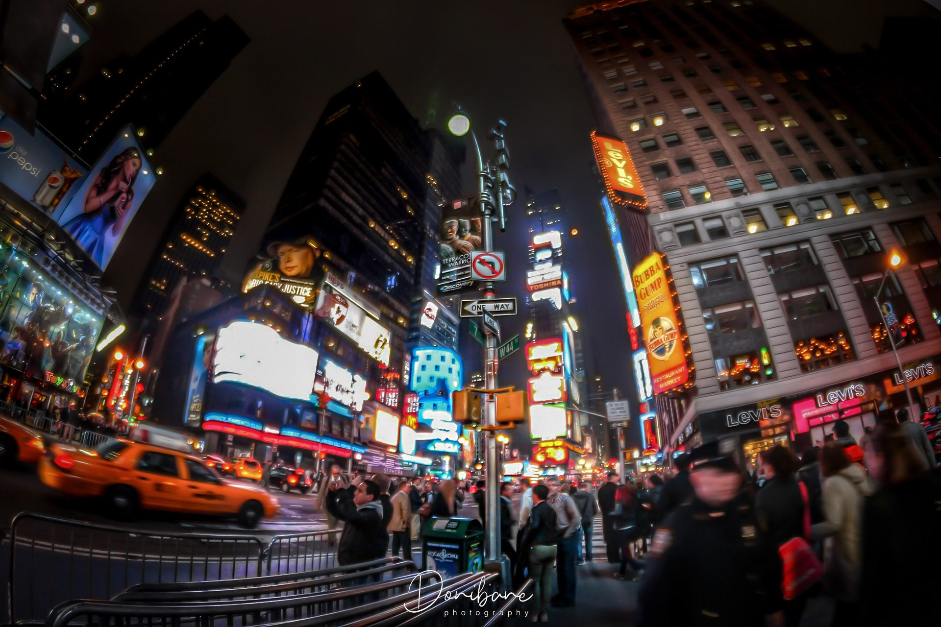 New York Street Lights by Donibane