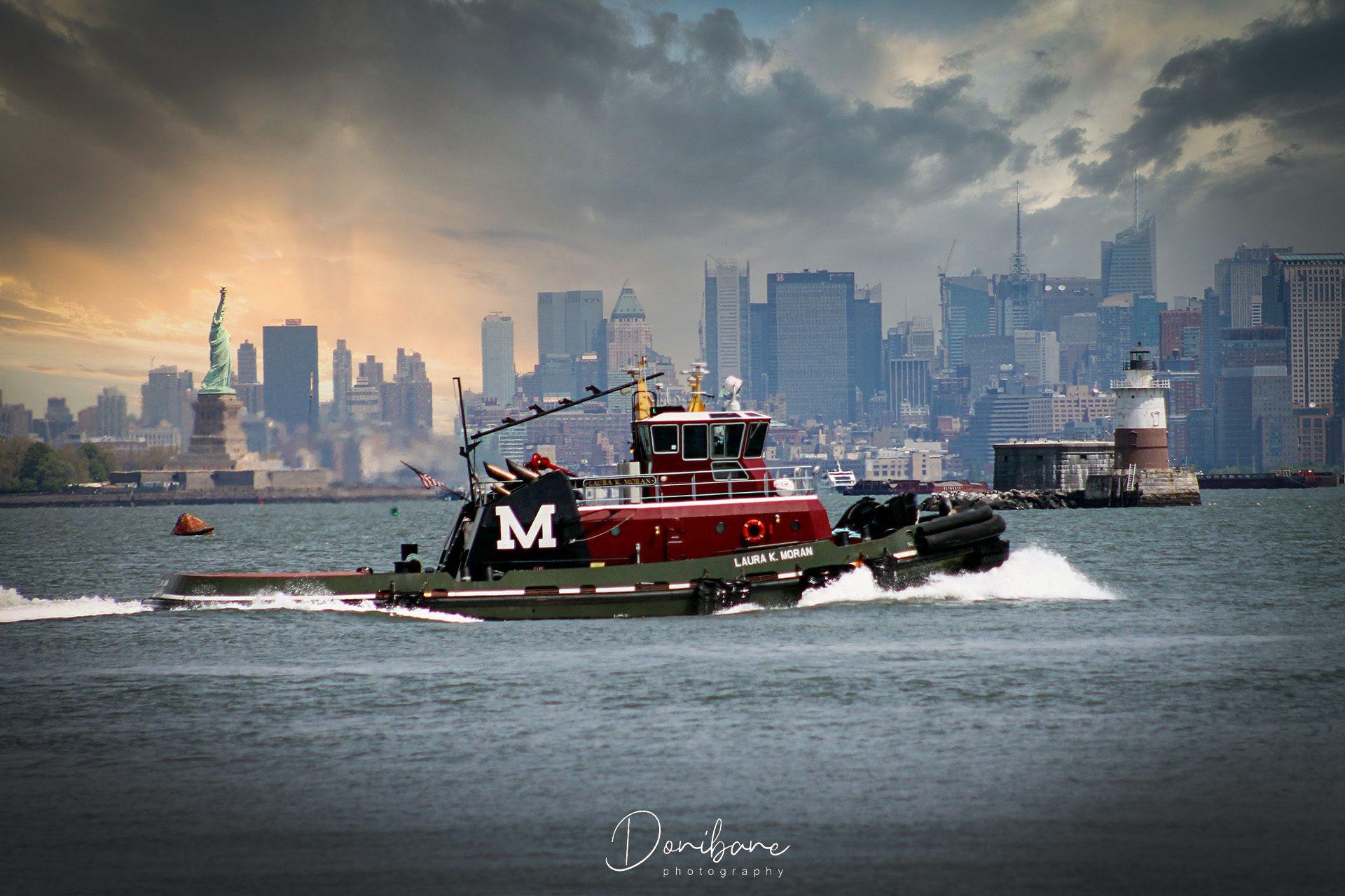 Barco en Nueva York por Donibane