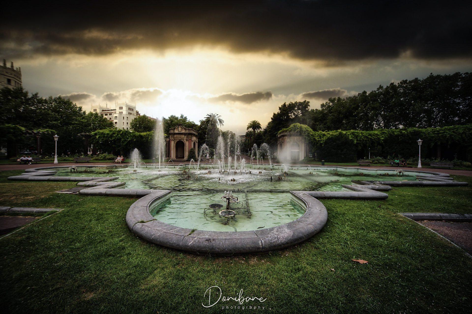 Parque de Doña Casilda por Donibane