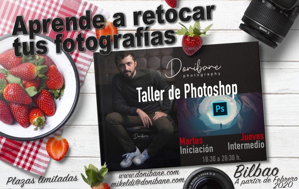 Donibane Taller de Photoshop y apps de retoque fotográfico