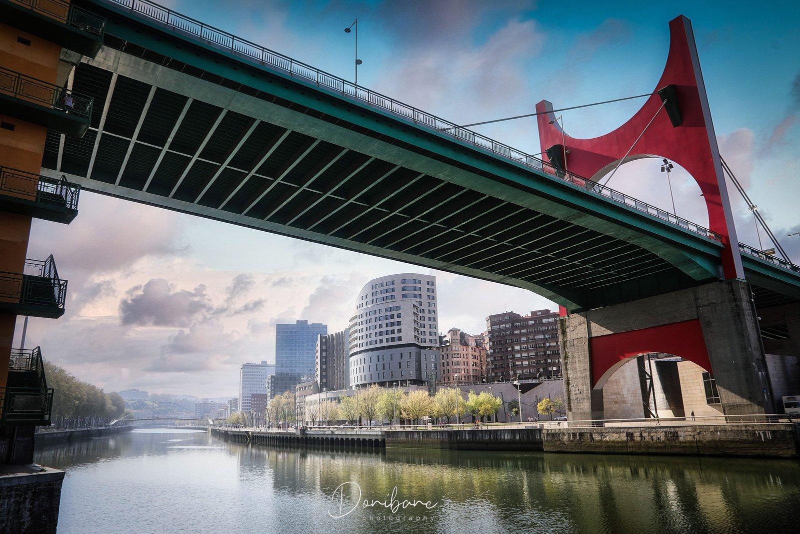 Puente la Salve en Bilbao por Donibane